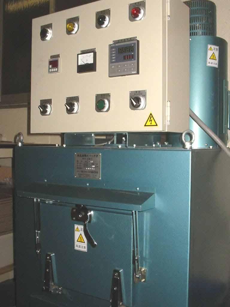 熱風循環式バッチ炉