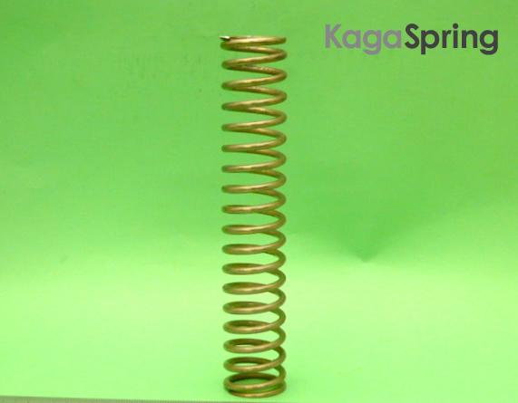 油圧シリンダー補助圧縮バネ